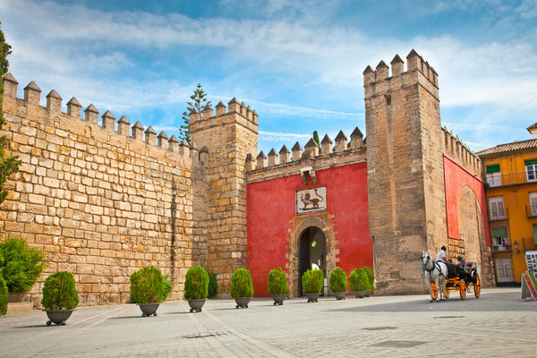 Seville - European Best Destinations - Alcazar Gardens in Sevilla Copyright Aleksandar Todorovic