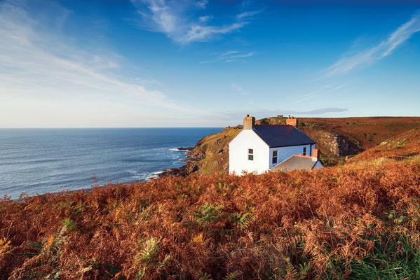 Cape Cornwall copyright Helen Hotson