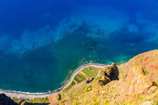 View from Cabo Girao cliff on Madeira island - Copyright aldorado