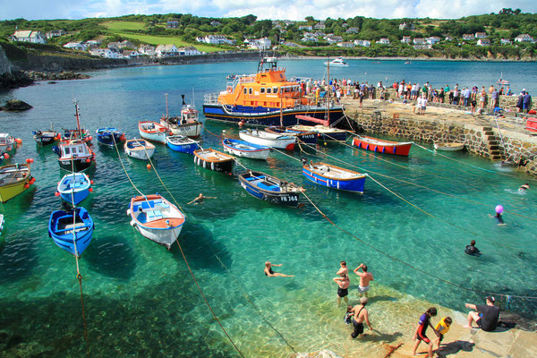 Coverack Cornwalls copyright Editorial Shutterstock  Clare Louise Jackson