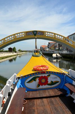 Aveiro canal, Portugal © European Best Detinations