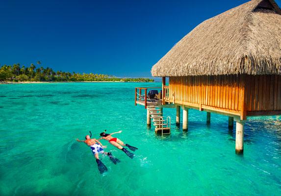 Snorkeling Tahiti copyright Martin Valigursky