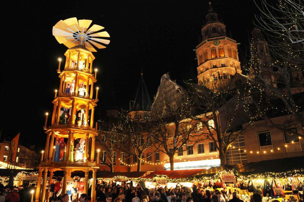 Mainz Christmas Market - Best Christmas Markets in Europe - Copyright Mainz Plus City Marketing  - European Best Destinations