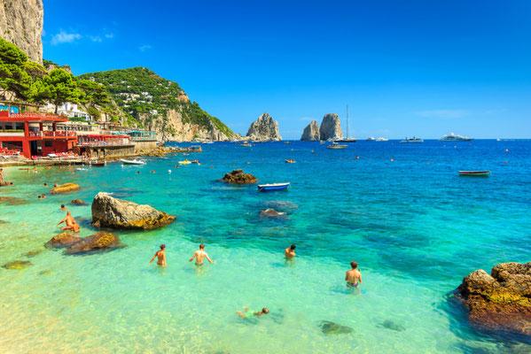 Capri Swimmer copyright Gaspar Janos