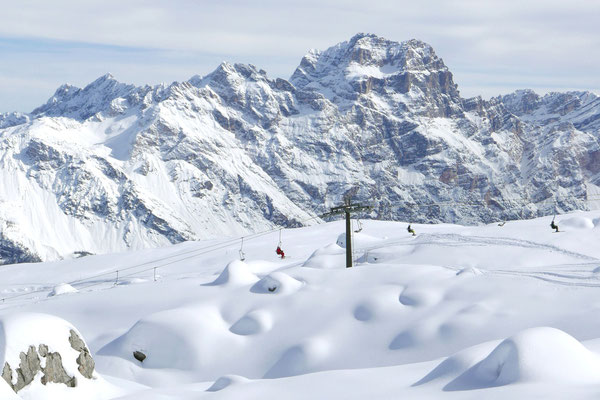Best ski resorts in Europe Cortina d'Ampezzo - Copyright Paola Dandrea