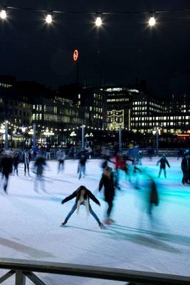 Ice skating in Stockholm  - Copyright Henrik Trygg / Visit Stockholm