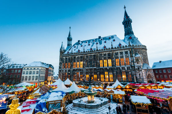 Aachen Christmas Market, Germany - Copyright yotily