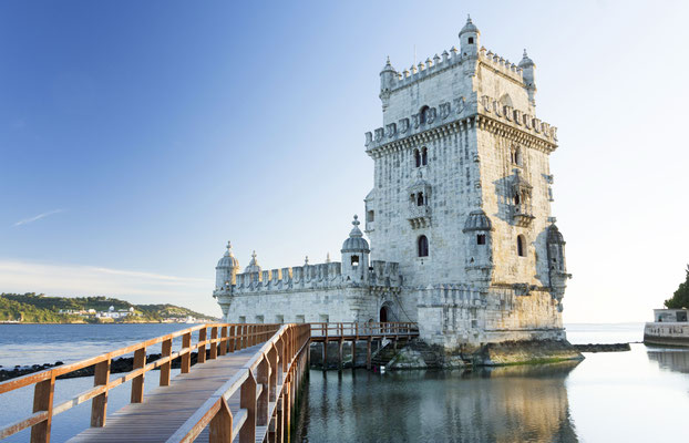 Belem Tower in sunset light, Lisbon, Portugal Copyright Mikadun
