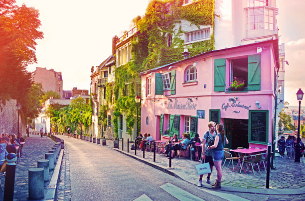 Paris La Maison Rose copyright Shutterstock Editorial MarinaD_37