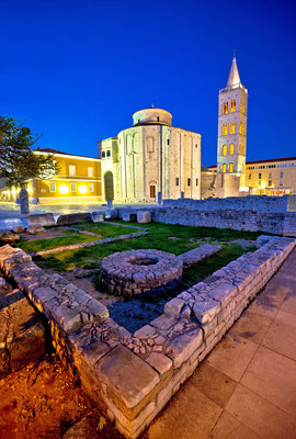 Old Zadar church, Dalmatia, Croatia - Copyright xbrchx