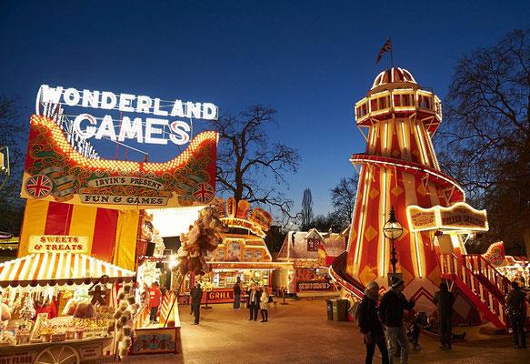 Christmas Market London - Copyright Hyde Park Winterwonderland