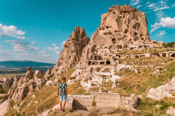 Cappadocia Uchisar Castle copyright  fokke baarssen