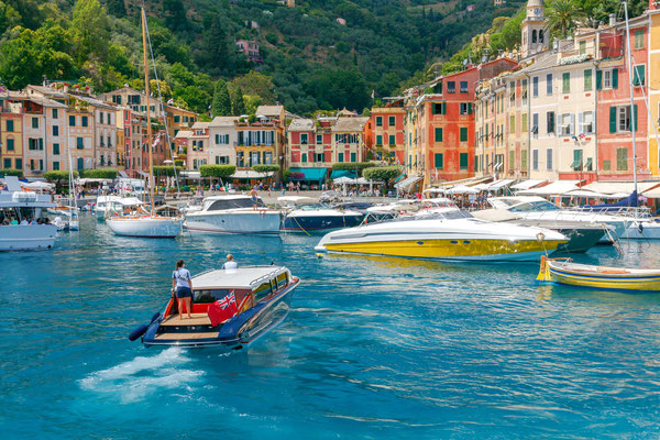 Portofino - European Best Destinations - Pleasure boats in Portofino Copyright kavalenkau