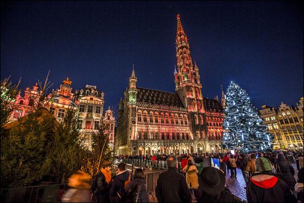 Brussels Christmas Market - Copyright VisitBrussels / E.Danhier