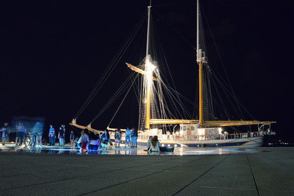 Greeting to the Sun at night, Zadar, Croatia - Copyright Matthieu Cadiou / European Best Destinations
