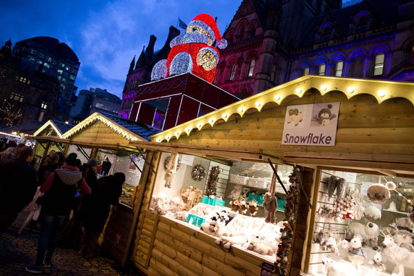 Manchester Christmas Market - Copyright Manchester City Marketing
