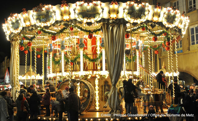 Christmas in Metz, France - Copyright ©Philippe Gisselbrecht   / Office de Tourisme de Metz