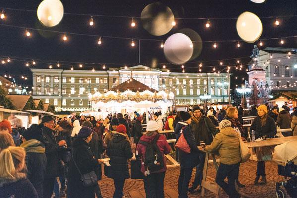 Helsinki Christmas Market Copyright Visit Helsinki - Jussi Hellsten