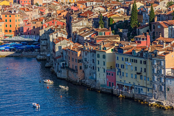 Old town Rovinj at sunset by OPIS Zagreb