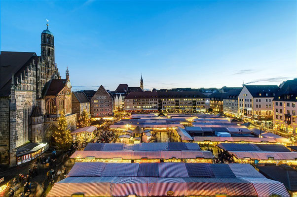 Best Christmas Markets in Germany -  Nuremberg Christmas Market Copyright Uwe Niklas