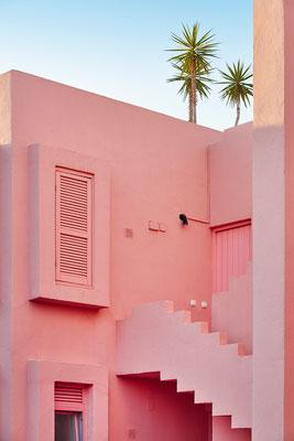 Muralla Roja, Calpe, Costa Blanca, Spain - Copyright  ABB Photo