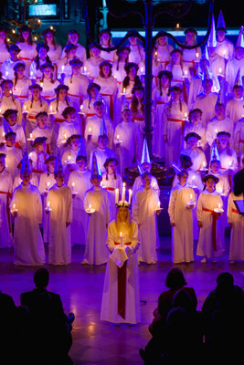 Lucia celebration in Stockholm - Copyright Henrik Trygg / Visit Stockholm