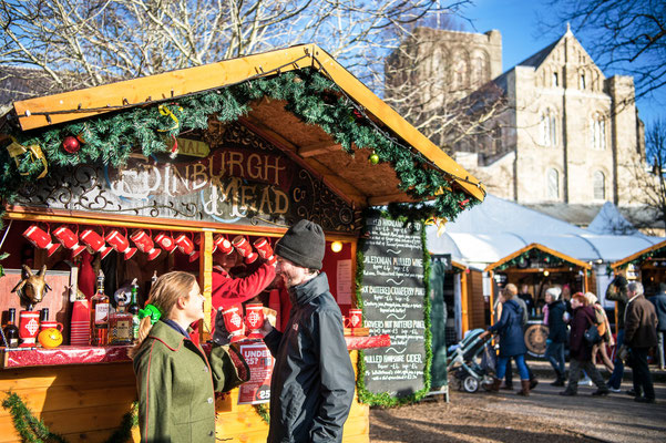 Winchester Cathedral's Christmas Market - Best Christmas Markets in the UK - Copyright winchester-cathedral.org.uk/christmas - European Best Destinations