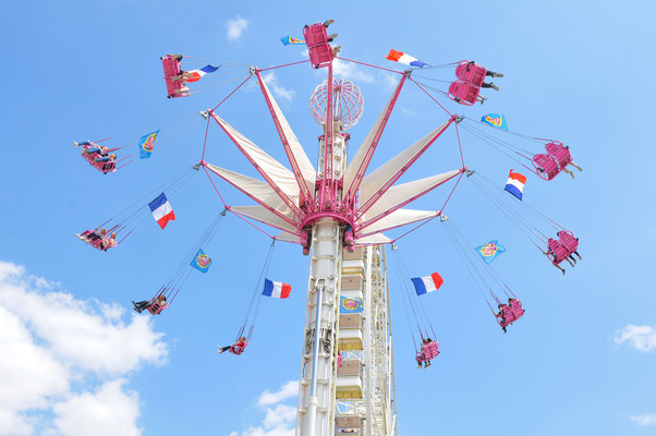 Amusement park in Jardin des Tuileries, Paris, France - Copyright Lucian Milasan