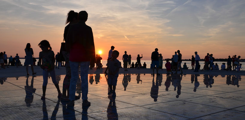 Sunset at Zadar, Croatia - Copyright European Best Destinations