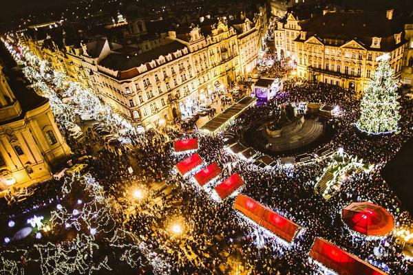 Prague Christmas Market Copyright Prague.eu