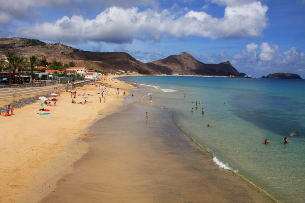 Porto Santo beach - Copyright Francisco Caravana