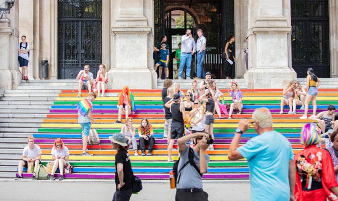Vienna gay steps copyright Shutterstock Editorial BABAROGA