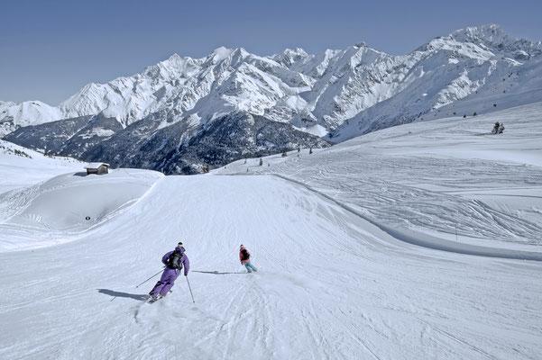 Les Contamines-Montjoie Ski Resort, French Alps ©NicolasJOLY