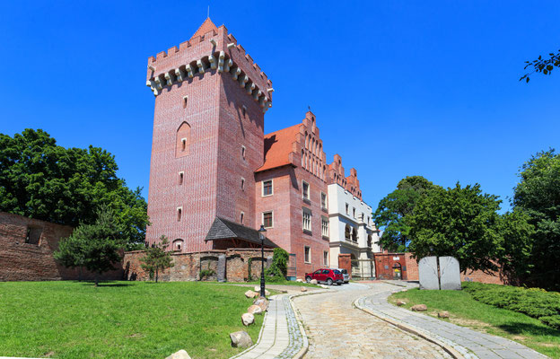 The Royal Castle in Poznan, Poland - after reconstruction Copyright Stepniak