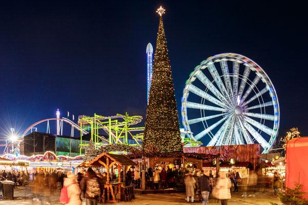 Christmas fair in Hyde park, London - By Alexey Fedorenko
