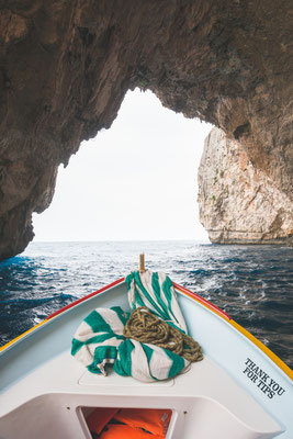 Boat trip around the Blue grotto in Malta Copyright  John Crux