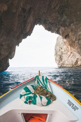 Boat trip around the Blue grotto in Malta Copyright  John Crux