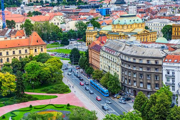 Panorama of Zagreb - Copyright OPIS Zagreb
