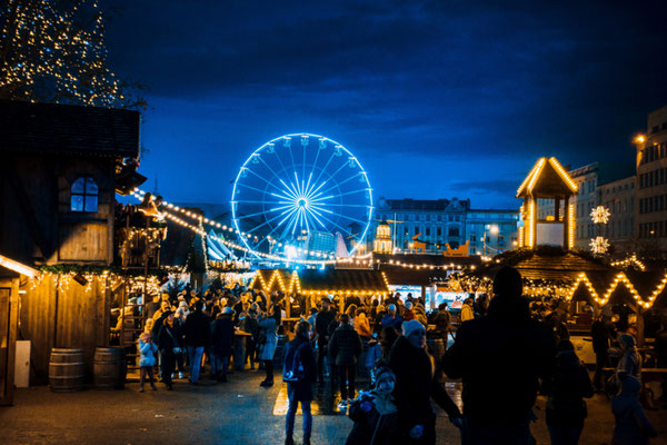 Best Christmas City Breaks in Europe - Poznan Christmas Market - Copyright Ilolab - Shutterstock