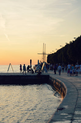 Greeting to the Sun, Zadar Sunset, Croatia - Copyright European Best Destinations