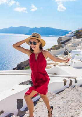 Perfect holiday in Santorini - Copyright Maridav- Santorini European Best Destinations
