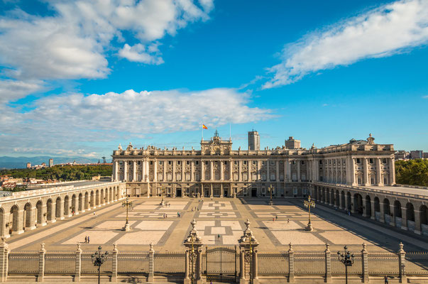 Royal Palace of Madrid by Pocholo Calapre - Shutterstock.com