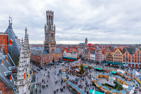 Bruges Christmas Market copyright SilvanBachmann - European Best Destinations