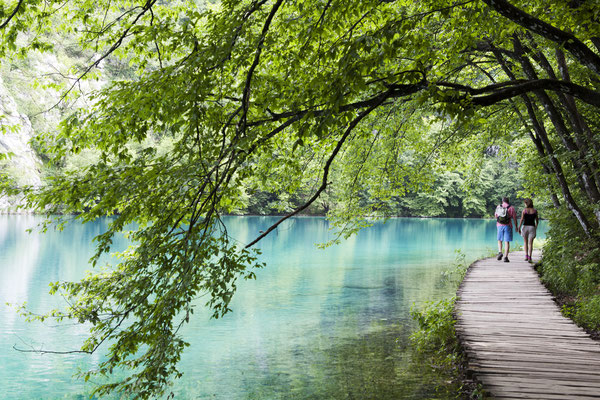 Plitvice Lakes National Park in Croatia - Copyright Commercial Photography