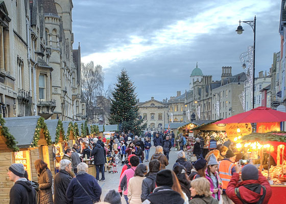 Oxford Christmas Market - Copyright Visit Oxford and OxfordShireOxford Christmas Market - Copyright Visit Oxford and OxfordShire