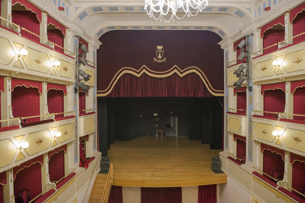 Carlo_Goldoni_Theatre_in Corinaldo - Photo_by_Franco_Giovannini - Corinaldo - European Best Destinations - Sustainable tourism in Europe