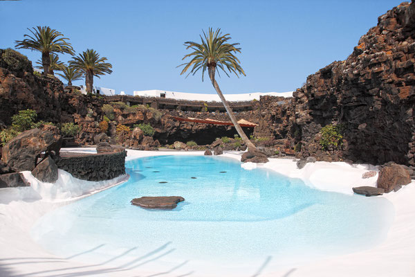 Lanzarote - European Best Destinations - Jameos del Agua in Lanzarote Copyright Robcartorres