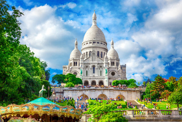 Paris Montmartre copyright Adisa