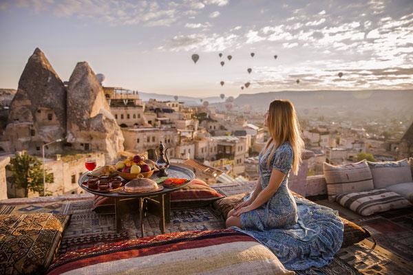 Cappadocia hot air Balloon copyright Alla Laurent