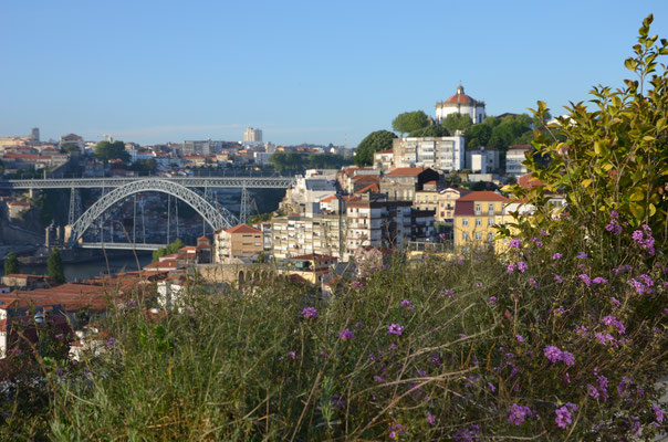 View of Porto from the gardens of The Yeatman Hotel in Gaia, Portugal © European Best Destinations